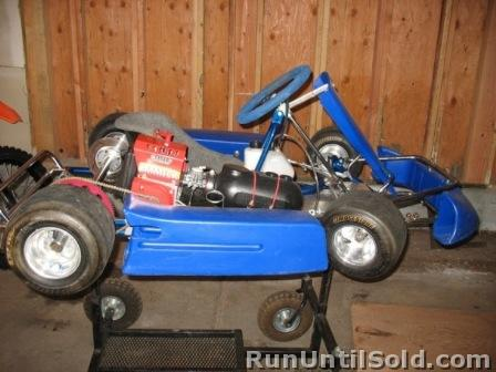 Kids Racing Go Kart
